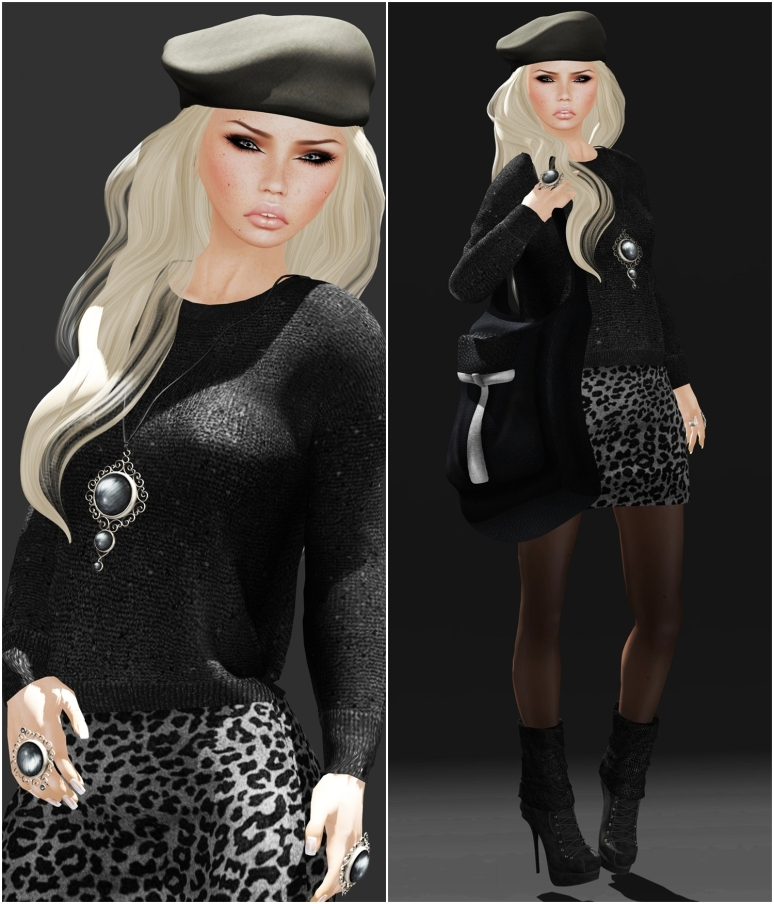 Admiral Spicy Dress and Exile Hair and Hat
